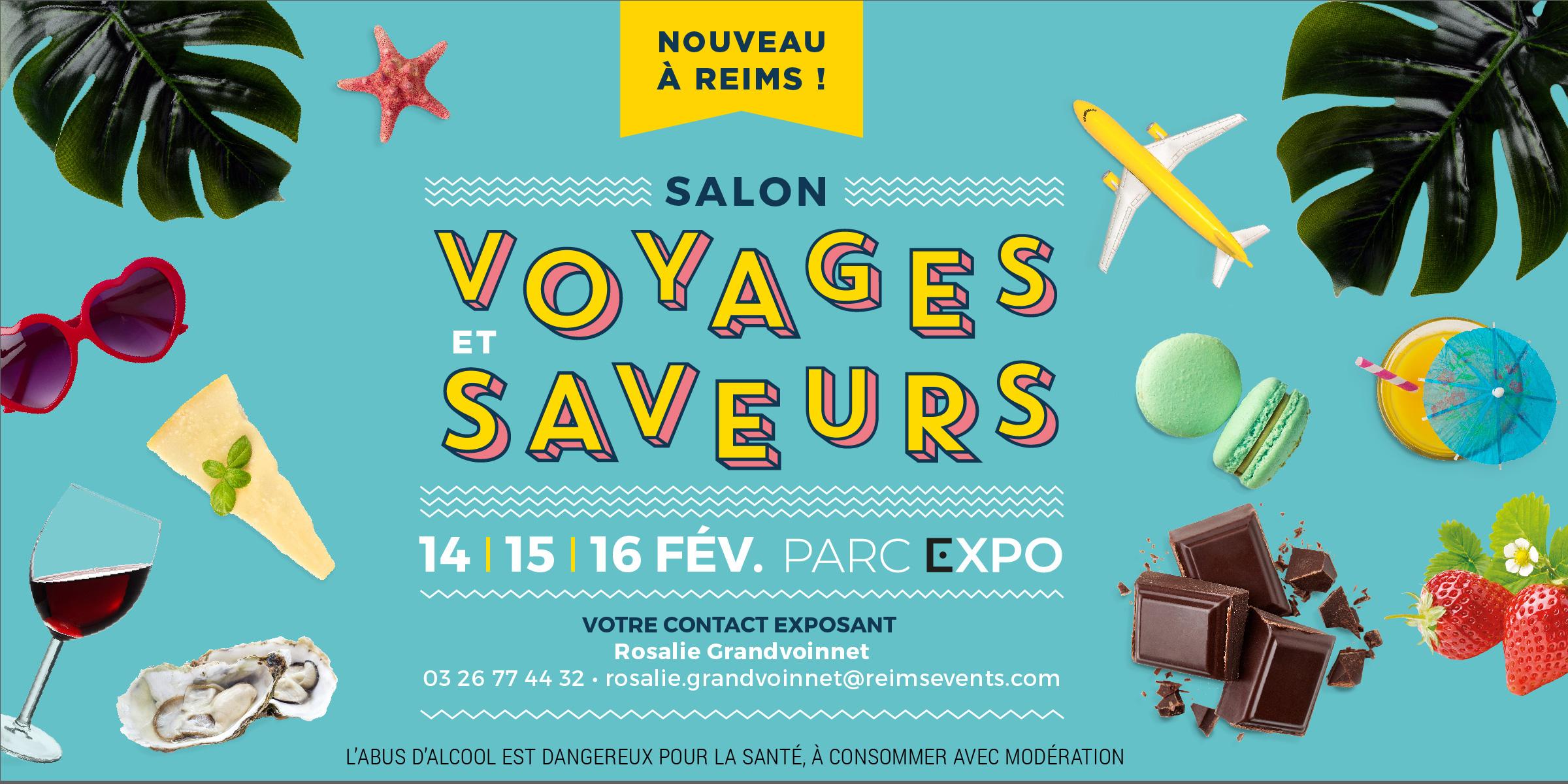 Visuel salon Voyages et Saveurs 2020